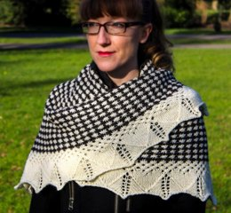 Asterisks Shawl