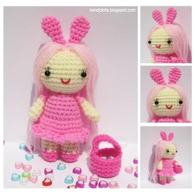 Pink Little Lady - free amigurumi crochet pattern