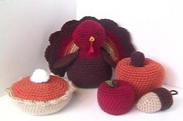 Autumn Crochet Amigurumi Pattern Set