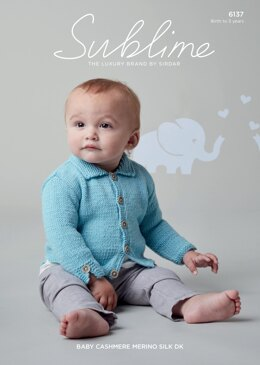 Sweater in Sublime Baby Cashmere Merino Silk DK - 6137 - Downloadable PDF