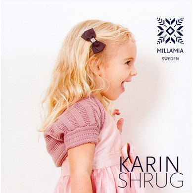 Girls' Karin Shrug in MillaMia Merino Wool