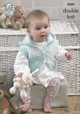 Baby Set in King Cole DK - 4209 - Downloadable PDF