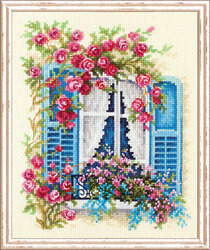 Magic Needle Blossoming Window Cross Stitch Kit
