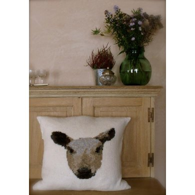 Bluefaced Leicester Sheep Cushion