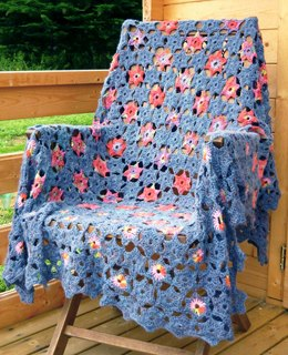 Starry Night Crochet Blanket/Afghan