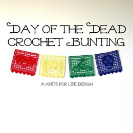 Day of the Dead Bunting Set