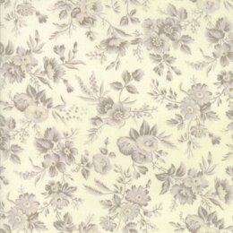 Moda Fabrics 3 Sisters Snowberry Snow Floral Delicate Sprays Natural