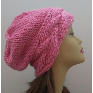 The Roxy Hat - Slouch Hat with a Braid