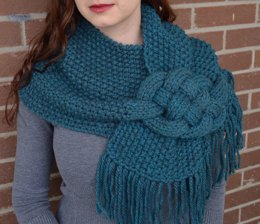 Misty Mornings - Celtic Knot Cowl