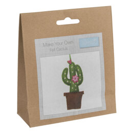Trimits Felt Decoration Kit: Cactus - 20 x 60 x 130mm