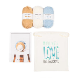 Harriet the Hedgehog Crochet Kit in Paintbox Yarns