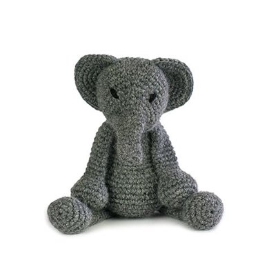 Toft Bridget The Elephant Toy - Steel