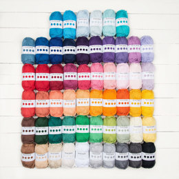 Paintbox Yarns Cotton Aran 56 Ball Colour Pack