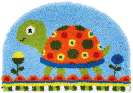 Vervaco Turtle Shaped Latch Hook Rug Kit