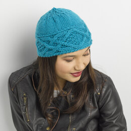 Speed Skater Hat in Valley Yarns Valley Superwash Bulky - 890 - Downloadable PDF