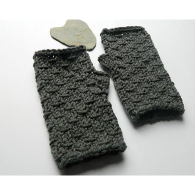Rustic Maine Fingerless Mitts