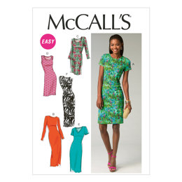 McCall's Misses' Dresses M6886 - Sewing Pattern