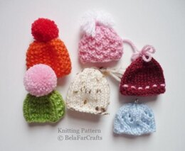 Mini Egg Hats - Ornaments