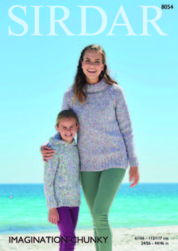 Sweaters in Sirdar Imagination Chunky - 8054