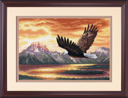 Dimensions Silent Flight Cross Stitch Kit - 41cm x 28cm