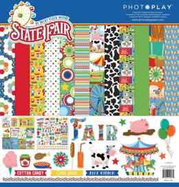"Photoplay Paper PhotoPlay Collection Pack 12""X12"" - State Fair"