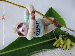 Sloth Knit Amigurumi