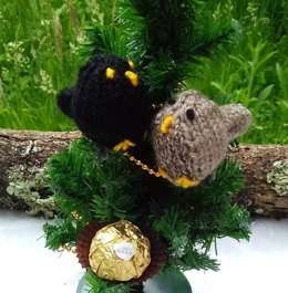 Mr & Mrs Blackbird - Easter Chocolate Covers