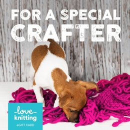 LoveKnitting eGift Card - For a Special Crafter!
