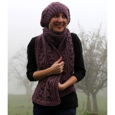 Cloudberry Scarf