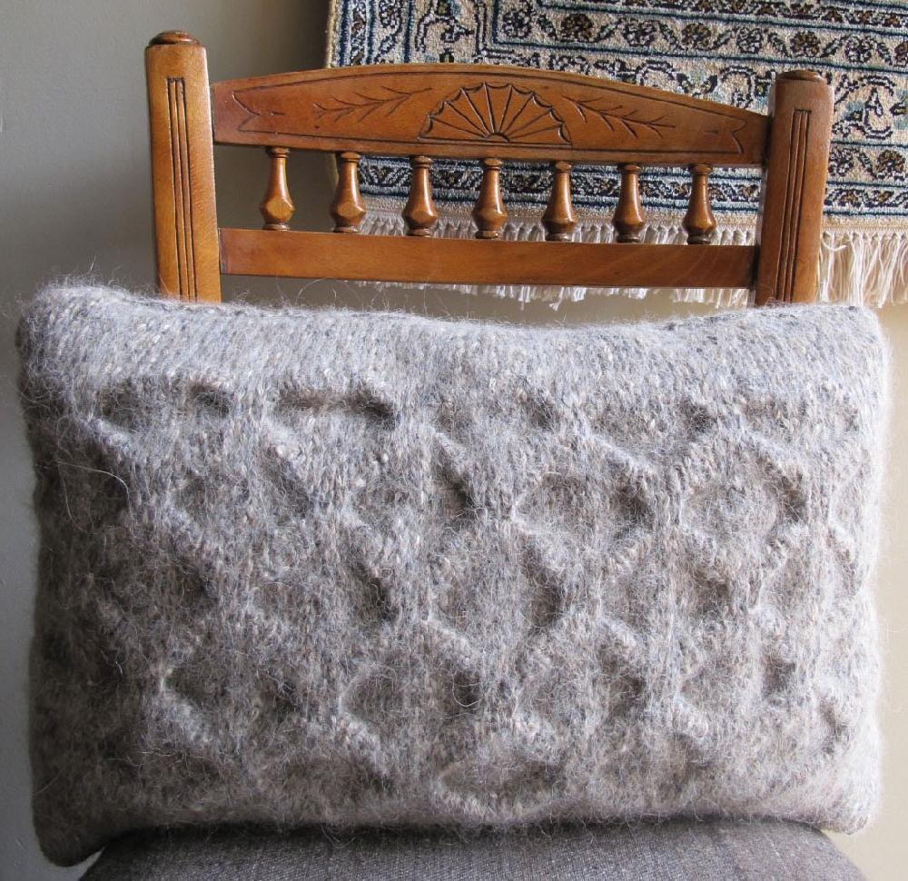 Origami Cushion Knitting Pattern By Marie Wallin