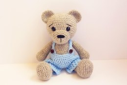 Amigurumi Teddy Bear Boy
