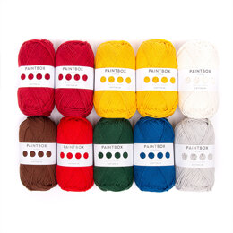 Paintbox Yarns Paintbox Yarns Cotton DK 10 ball colourpack - Amigurumi Advent 2020
