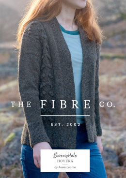 Hovera Cardigan in The Fibre Co. Lore - Downloadable PDF