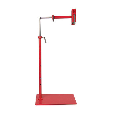 Lowery Strawberry Red Workstand with Side Clamp (Powder Coated)