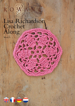 Lisa Richardson Crochet Along Week 6 in Rowan Summerlite 4 Ply