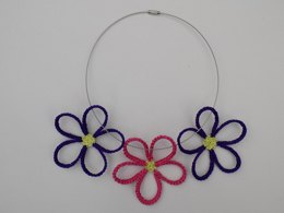 Daisy Flowers Necklace