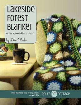 Lakeside Forest Blanket