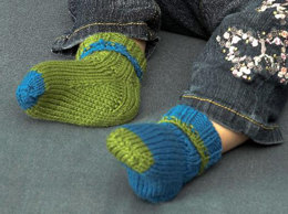 Toddler Socks in Plymouth Dreambaby DK  - F531