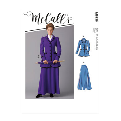 McCall's Misses' Costume M8136 - Sewing Pattern
