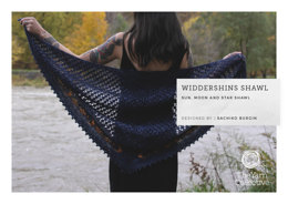 """Widdershins Shawl by Sachiko Burgin"" - Shawl Knitting Pattern For Women in The Yarn Collective"