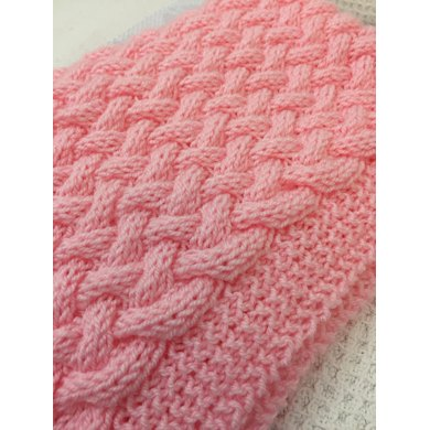 Wicker Basket Weave Baby Blanket Knitting Pattern By Daisy Gray Knits