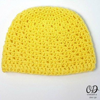 Lemonade Newborn Baby Hat Crochet pattern by Rhondda ... 9c19aa86767