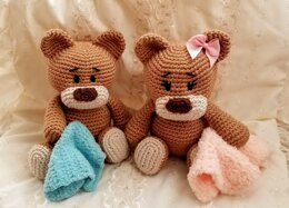 Baby Bear with Lovey