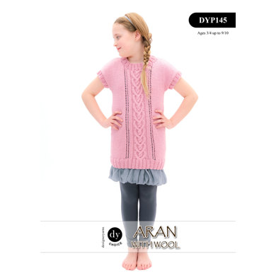 Dress in DY Choice Aran With Wool - DYP145