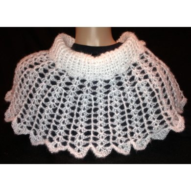 Snow Angel Cowl Poncho PDF12-086