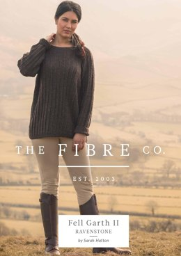 Ravenstone Jumper in The Fibre Co. Arranmore Light - Downloadable PDF