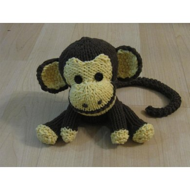 Knitkinz Monkey for Your Office