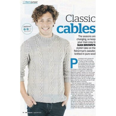 Moss Twist Cable Jumper