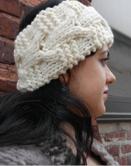 Huron Headband in Tahki Yarns Donegal Tweed