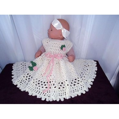 774 RoseBud  Baby and Girl's Dress